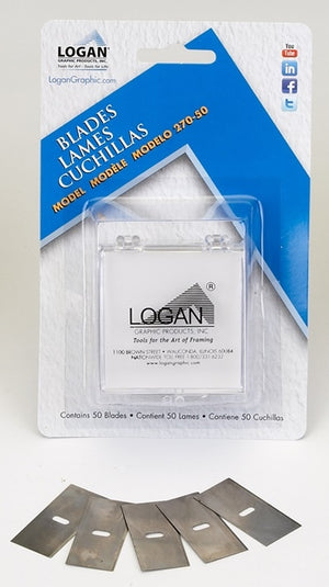 Logan Replacement Blades Model 270 - 50 pack