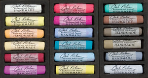 Jack Richeson Handmade Pastels - Set of 18 Assorted Colours