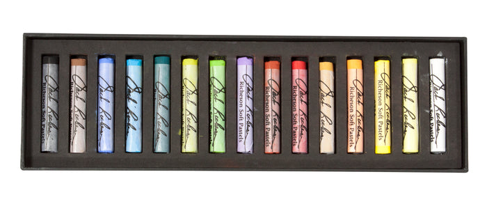 Jack Richeson Soft Pastels - Set of 15 Full Stick