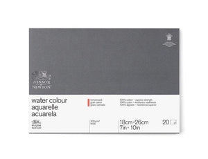 "Winsor & Newton Professional Watercolour Paper Block - 140 lb. Hot Press - 7"" x 10"""