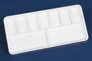 9 Well Plastic Slant Tray Paint Palette
