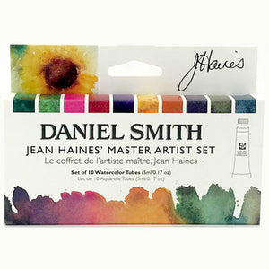 Daniel Smith Jean Haines' Master Artist Watercolor Set - 10 tubes x 5 ml