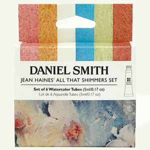 Daniel Smith Jean Haines' All That Shimmers Watercolor Set - 6 tubes x 5 ml