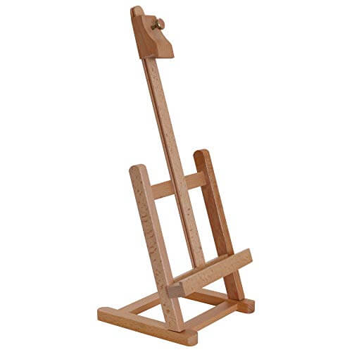 "12"" Wooden Studio Table Easel"