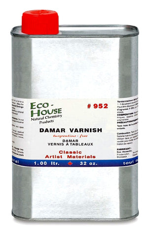 Eco-House Damar Varnish - 32 oz.