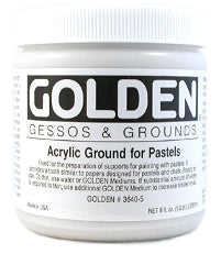 Golden - 8 oz. - Acrylic Ground for Pastels