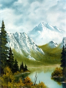 Bob Ross Landscape Painting Packet - Alaskan Summer