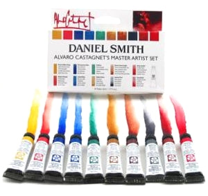 Daniel Smith Alvaro Castagnet Water Color Set - 10 tubes x 5 ml