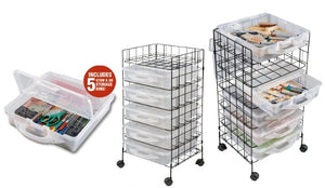 Stow Rack & Go Mobile Cart