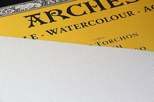 Arches - 140 lb. - Rough - Bright White