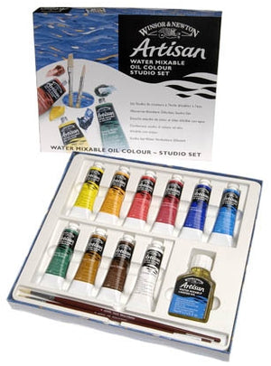 Winsor & Newton Artisan Watermixable Oil Colour - Studio Set