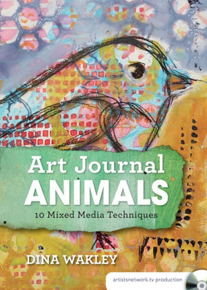 Art Journal Animals with Dina Wakley
