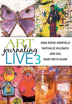 Art Journaling Live 3 DVD