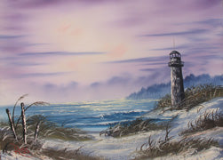 Bob Ross Seascape with Lighthouse DVD