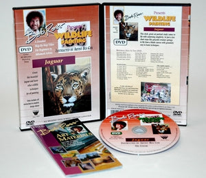 Bob Ross Wildlife Painting Jaguar DVD