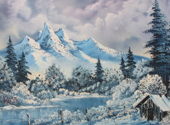 Bob Ross Winter Harmony DVD