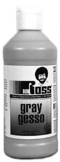 Bob Ross Gray Gesso - 473 ml