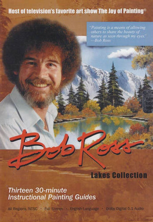Bob Ross Lakes Collection DVD