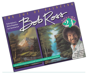 Bob Ross Joy Of Painting Book - Volume 24