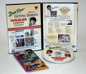 Bob Ross Getting Started Wildlife Painting Techniques DVD