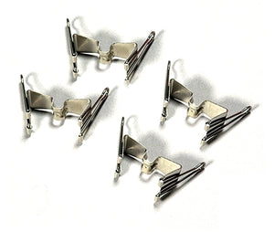 Canvas Carrier Clips - 4 pack