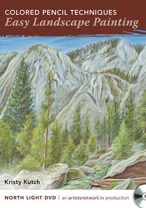 Colored Pencil Techniques - Easy Landscape Painting with Kristy Kutch