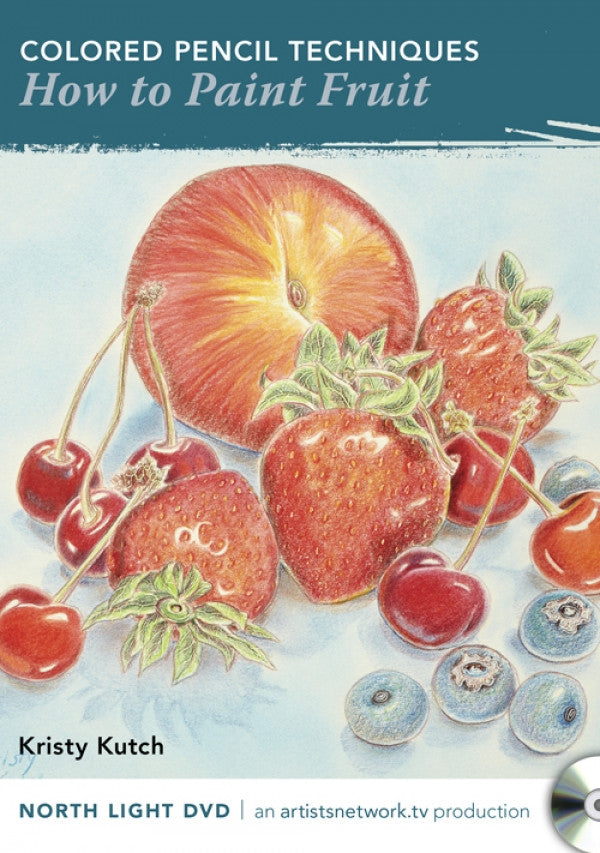 Colored Pencil Techniques: How to Paint Fruit with Kristy Kutch