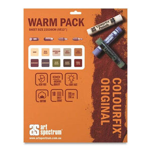 Art Spectrum Colourfix™ Paper Pad - Warm Tones