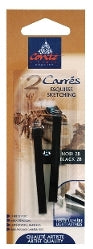 Conte Crayon - 2 pack - Black 2B
