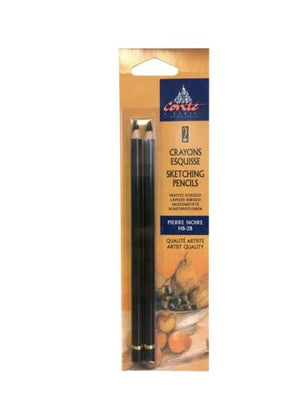 Conte Sketching Pencil Set of 2 - Pierre Noire HB & 2B