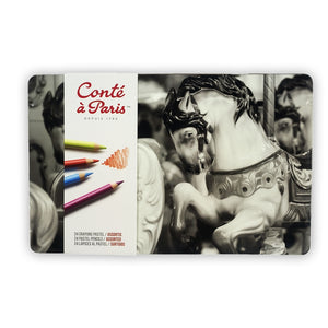 Conté à Paris Pastel Pencils Set of 24 - Assorted