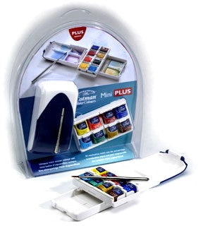 Cotman Watercolour - Mini Plus Set