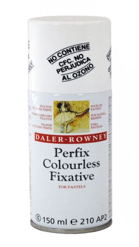 Daler-Rowney Perfix Colourless Fixative for Pastels - 150 ml