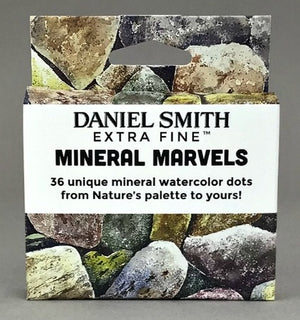 Daniel Smith Extra Fine Watercolour Mineral Marvels Dot Card Set