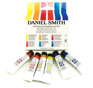 Daniel Smith Watercolor Essentials Set - 6 tubes x 5 ml
