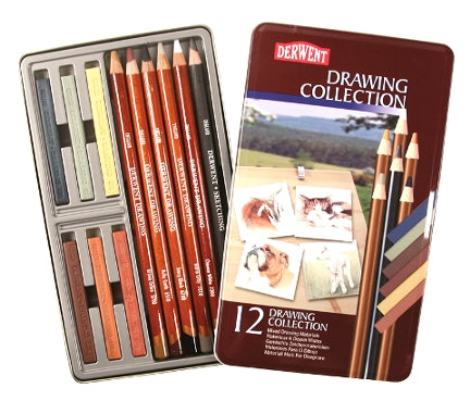 Derwent 12 Drawing Collection