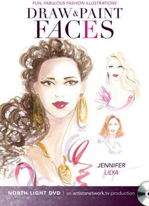 Fun, Fabulous Fashion Illustrations - Draw and Paint Faces DVD