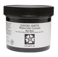 Daniel Smith - 4 oz. - Watercolor Ground Mars Black