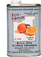 Eco-House - 250 ml - #115 Xtra Mild Citrus Thinner