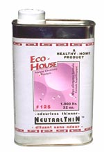 Eco-House - 250 ml - #125 NeutralThin® Odourless Thinner