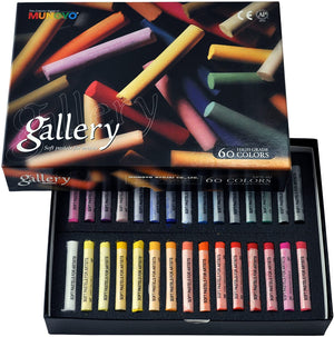 Mungyo Gallery Extra Soft Pastel Set of 60