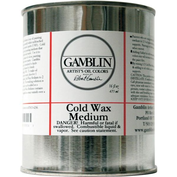 Gamblin Cold Wax Medium - 16 oz.