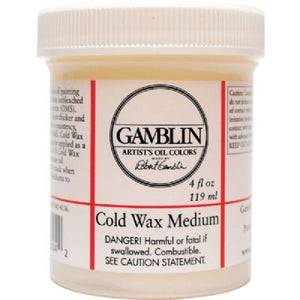 Gamblin Cold Wax Medium - 4 oz.
