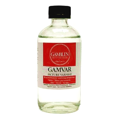 Gamvar Gloss Varnish - 8 oz.