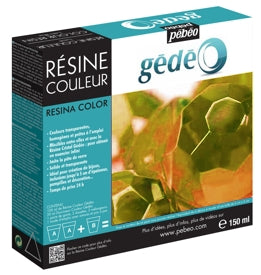 Pebeo Gédéo Colour Resin - 150 ml - Topaz