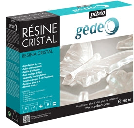 Pebeo Gédéo Crystal Resin - 750 ml