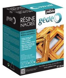 Pebeo Gédéo Pearl Resin - 150 ml - Gold