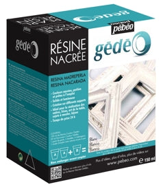 Pebeo Gédéo Pearl Resin - 150 ml - Pearl White