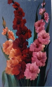 Bob Ross Floral Painting Packet - Gladiolus