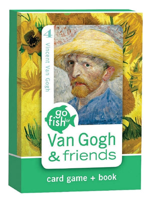 Van Gogh & Friends Go Fish Card Game